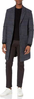 Perry Ellis Men's Wool Overcoat