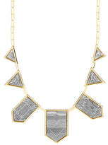 House Of Harlow Engraved Collar Necklace