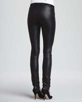 Milly Monic Leather Skinny Pants