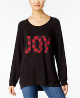 Style&Co. Style & Co. Joy Holiday Graphic Knit Top, Only at Macy's