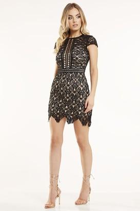 Candypants Outlet Black Crochet Lace Dress