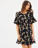 MLM Label Sound Ruffle Dress