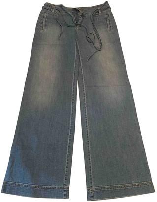 Mariella Rosati Blue Cotton Jeans for Women