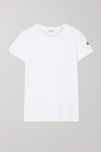 bd0a0fac1 Cotton-jersey T-shirt - White
