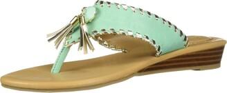 Lindsay Phillips Women's Margo Turquoise 7 Regular US