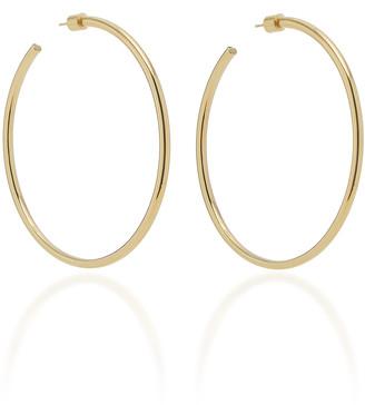 Jennifer Fisher Classic 14K Rose Gold Hoop Earrings