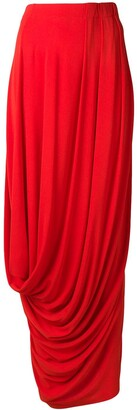 Marni Draped Maxi Skirt