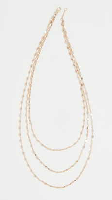 Lana 14k Mega Gloss Blake Triple Strand Necklace