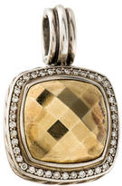 David Yurman Bi-Color Diamond Enhancer Pendant