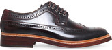 Grenson Sid lace-up leather brogues
