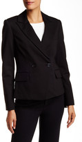 Pink Tartan Double Breasted Stretch Tux Jacket