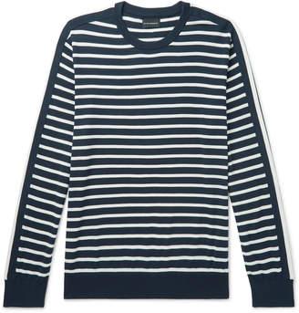 Club Monaco Striped Cotton Sweater