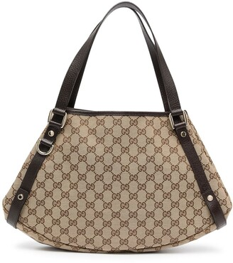 Gucci Pre-Owned GG Shelly Line tote bag