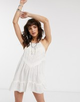 Free People Elisa cami dress in white