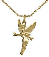 Disney Tinker Bell Pendant w/Chain, 14K Gold