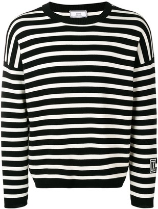 Ami stripped patch IX jumper