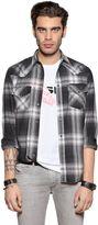 Diesel Plaid Cotton Flannel Western Shirt