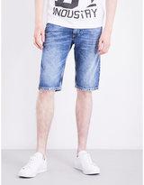 Diesel Thashort regular-fit mid-rise denim shorts