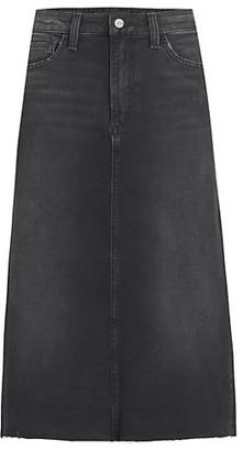 Joe's Jeans A-Line Denim Skirt