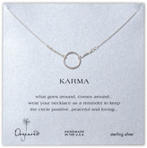 'Karma' Reminder Pendant Necklace