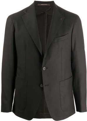 Tagliatore Fitted Single-Breasted Jacket