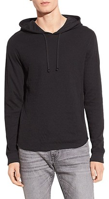 Vince DBL Waffle-Knit Hoodie