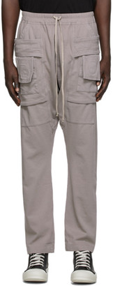 Rick Owens Taupe Creatch Cargo Pants