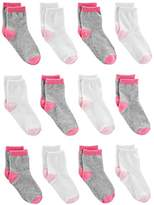 Simple Joys by Carter's Girls' Toddler 12-Pack Sock Crew
