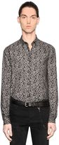 The Kooples Ivy Print Light Cotton Flannel Shirt