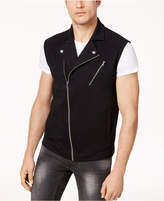INC International Concepts Men's Moto Vest, Created for Macy's