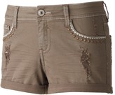 Hydraulic Juniors' Lola Ripped Shortie Shorts
