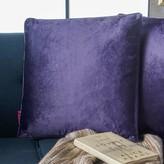 Owlswick Fabric Throw Pillow Mercer41 Color: Plum