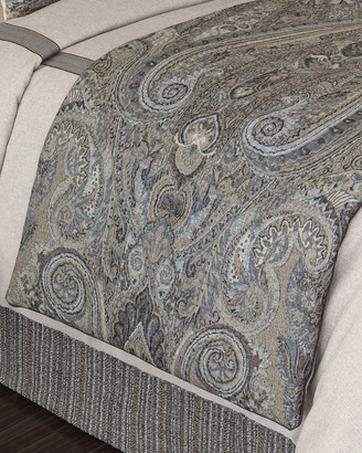 """Eastern Accents Reign Bed Scarf, 90""""L"""