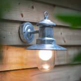 Houseology Garden Trading St Ives Ships Light - Galvanised