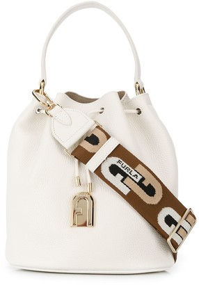 Furla Sleek plain bucket bag