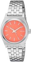 Nixon Women's A3992054 Small Time Teller Analog Display Analog Quartz Watch