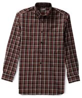Daniel Cremieux Signature Big & Tall Long-Sleeve Check Sportshirt
