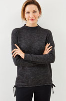 J. Jill Pure Jill Ultrasoft Side-Tie Sweater