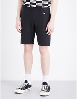 Champion Logo-embroidered Cotton-jersey Shorts