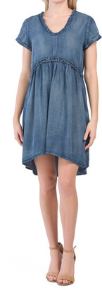 Short Sleeve Griselda Babydoll Dress