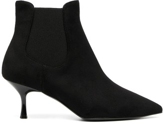 Pollini Stiletto-Heel Ankle Booties