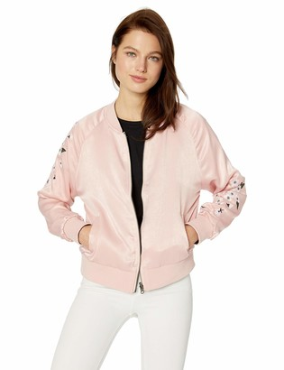 Cupcakes And Cashmere Women's Donya Reversable Bomber Jacket