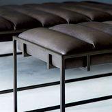 west elm Fontanne Leather Ottoman - Rectangle