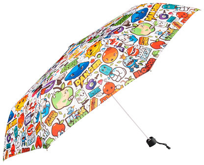 Dandyfrog Funky Apples Umbrella Small