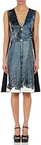 Marc Jacobs WOMEN'S LACE-PRINT SATIN SHEATH DRESS