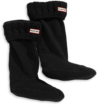 Hunter Six-stitch Cable Boot Sock