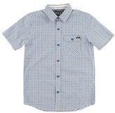 O'Neill 'Emporium' Short Sleeve Check Woven Shirt (Little Boys)