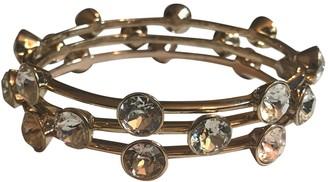 Givenchy Gold Crystal Bracelets