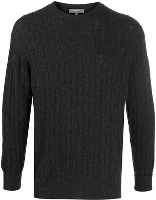 N.Peal Long Sleeve Chunky Knit Jumper