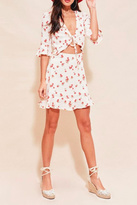 For Love & Lemons Cherry Print Sundress